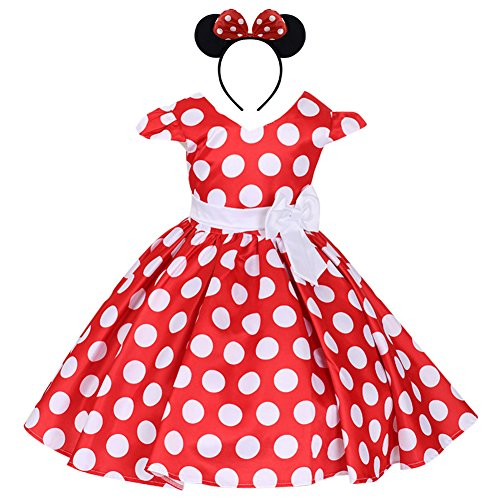 Robe Minnie originale façon princesse