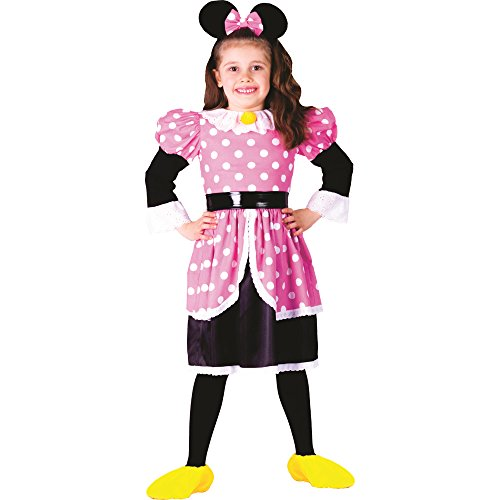 Robe costume complet de Minnie Mouse pour Halloween