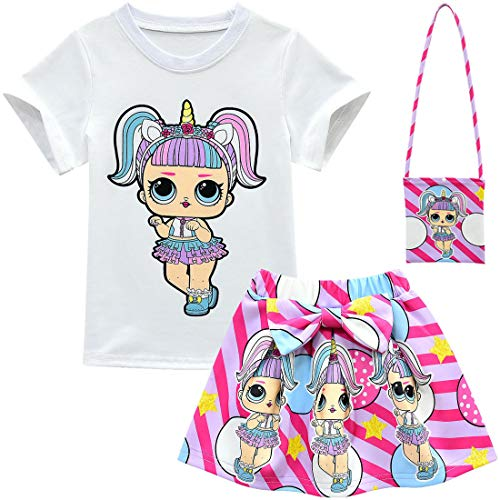 Ensemble jupe t-shirt LOL doll