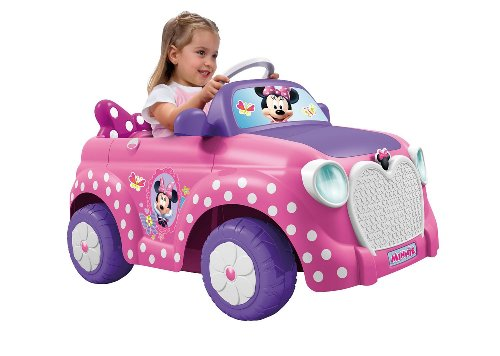 Voiture Minnie Girly