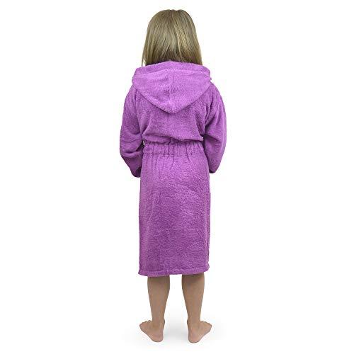 Citycomfort violet licorne à capuche Super Doux Robe de chambre pour filles