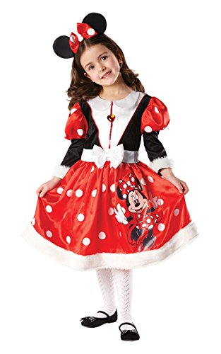 Robe de Carnaval Minnie Mouse rouge
