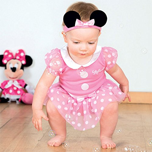 Robe Minnie bébé tutu rose