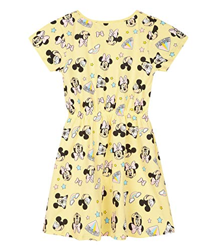 Robe Minnie Mouse jaune pour le printemps