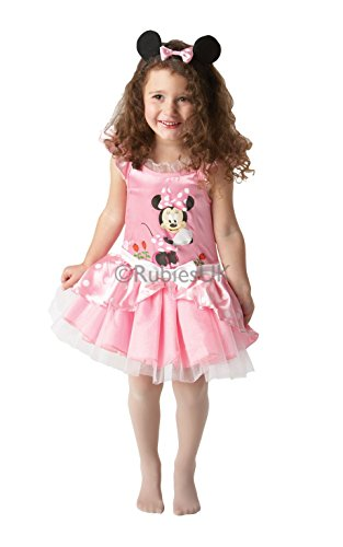 Robe de Carnaval Minnie Mouse rose à tutu